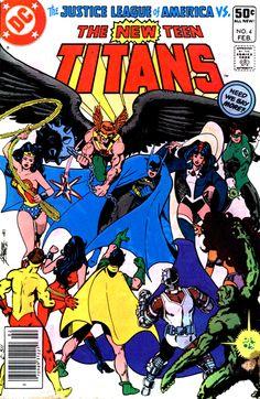 The New Teen Titans #4 - Feb. 1981