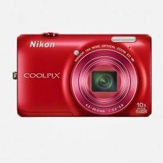 Nikon COOLPIX s6300 Red Digital Camera - Para comprar: www.abravaneltravel.com | mail to: admin@abravaneltravel.com | Compre no Brasil com preço dos EUA!