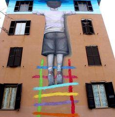 Roma interamente dedicata alla street art