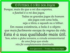 Grafados: Jean Giraudoux - O Futebol é o rei dos jogos