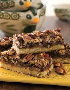 temp-tations® by Tara: Pecan Chocolate Pie Bars