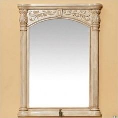 James Martin 206-001-5919 Monte Carlo 39x29 Mirror Finished in Parchment