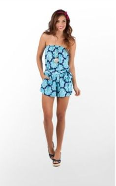 I WANT THIS ROMPER! #LillyPulitzer
