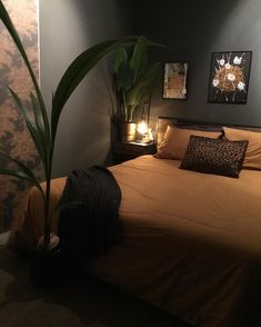 Bedroom Themes, Bedroom Inspo, Bedroom Decor, First Apartment Decorating, My Room, Interior Inspiration, Master Bedroom, House Design, Interior Design