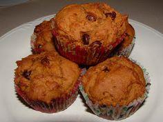 Caffeinated Autism Mom: GFCF Pumpkin Chocolate Chip Muffins