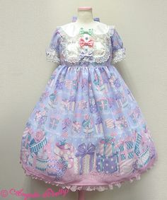 Wrapping Heart Angelic Pretty OP one piece