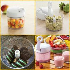 Salsa, hummus, salads, smoothies, and SO much more! The possibilities are endless with The Pampered Chef Manual Food Processor! Get it here: www.pamperedchef.biz/Caitlanb