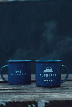 Mountain High Everglades Mug by Muttonhead Co.
