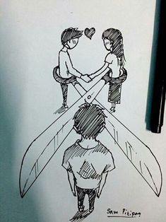 art, boyfriend, broken, broken heart,