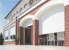 This amazing bermuda shutters is a very inspiring and high-quality idea Roller Doors, Roller Shutters, Window Shutters, Durham, Exterior Design, Home Interior Design, Puerto Rico, California Shutters, Types Of Shutters