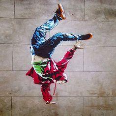 above stencil bboy 01 ABOVE New Street Piece In London // UK
