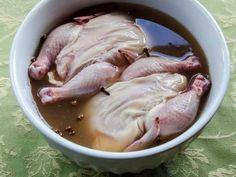 Game Hens in Spiced Apple Cider Brine