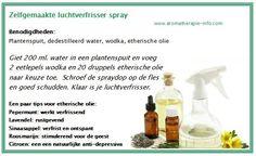 Natuurlijke luchtverfrisser spray