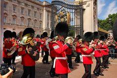 Grenadiers Guards Band at Buckingham Palace