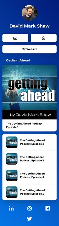 Author - Speaker - Consultant David Marks, Personal Branding, Insight, The Creator, Author, Social Media, Content, Let It Be, Landing
