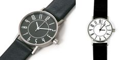 EKI train station watch, styled after the clock in the Sapporo station. Clean, simple, classic.