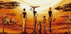 Pinned from Pin It for iPhone Oil Painting Pictures, Art Pictures, Black Women Art, Black Art, African Quilts, Afrique Art, African Art Paintings, Contemporary African Art, Art Premier