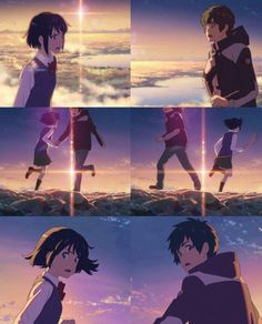 Konichiwa AA ^^ Well today I just wanna talk about my favourite anime movie, kimi no na wa (your name) Watch Your Name, Your Name Movie, Your Name Anime, Kimi No Na Wa, Koe No Katachi Anime, Mitsuha And Taki, Tsurezure Children, L Death Note, A Silent Voice