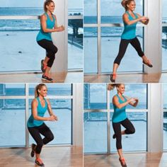 Problem: Cankles  Solution: Lateral leap and hop Repeat 10 times in total, alternating sides each time