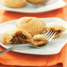 Miniature Meat Pies..gotta try (tried them...tasty..even after frozen and reheated)