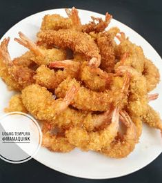 Resep udang tempura sederhana Ala Resto By - Resep Tina Prawn Noodle Recipes, Seafood Soup Recipes, Asian Recipes, New Recipes, Cooking Recipes, Slow Cooker Slimming World, Seafood Dinner, Indonesian Food, Tempura