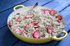 Strawberry, Mint & Quinoa Salad at the Ithaca Parade | Cayuga St. Kitchen