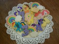 My Little Pony Cookies from Little Prince Cookies