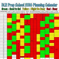 Step 1: Pick a Date from DLRPrepSchool.com