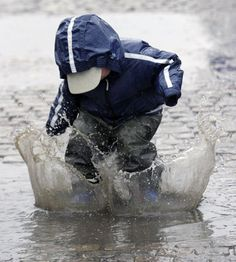 We're all that little kid who just wants to jump into that puddle of water. Some go for it, some go for it and regret it, and some never do, but wish they had. Such is life...