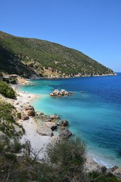 Zola beach Photo from Agia Kyriaki in Kefalonia Greece Photography, Travel Photography, Qatar Travel, Beach Photos, Amazing Destinations, Beautiful Places, Around The Worlds, Island, Vacation
