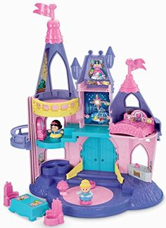 Disney Princess Little People Castle ♥ Best Toys and Gifts for Girls 2 Years Old - This princess palace is a great gift!