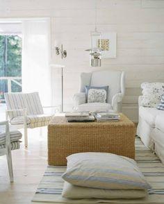 beach cottage living room