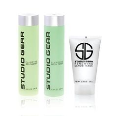 Best Makeup Kit | Studio Gear Skin Clarifying Cleansing Kit  Cleanser 64 oz Toner 64 oz  and Scrub Mask 225 oz -- Check this awesome product by going to the link at the image. Note:It is Affiliate Link to Amazon.