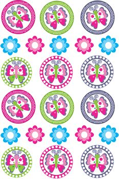 Butterfly Stickers Stickers