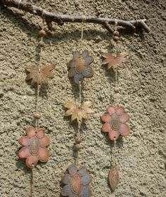 make with kids Play Clay, Pottery Ideas, Yard Art, Ceramic Pottery, Wind Chimes, Projects To Try, Decor Ideas, Nice, Create