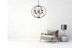 Nowoczesna lampa industrialna Morena Home Decor, Brunettes, Decoration Home, Room Decor, Home Interior Design, Home Decoration, Interior Design