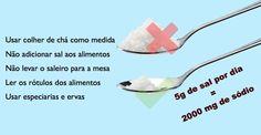 Como diminuir o consumo de sal