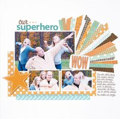 Scrapbook How To: Use Your Paper Scraps on Your Scrapbook Layout