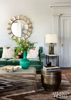 Elements of Style Blog | A Historic House with Personality | http://www.elementsofstyleblog.com