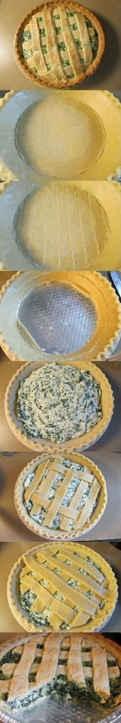 Starbucks Spinach Quiche - Follow these steps to bring home this savory pastry.  Remember, serve with a cup of your favorite coffee on the side to enjoy.  http://www.ez-dinnerideas.com/starbucks-spinach-quiche.html