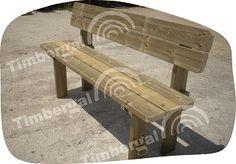 Banco de madera. Mod. Rustic – Timbergal