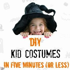 DIY kid costumes