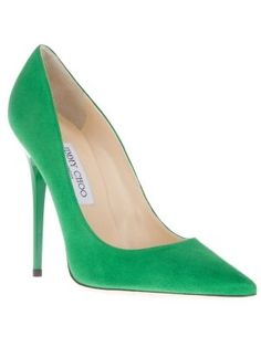 590d9296cf34 ... wholesale emerald green suede abel pumps from jimmy choo featuring a  pointed toe a 64832 ff4ce