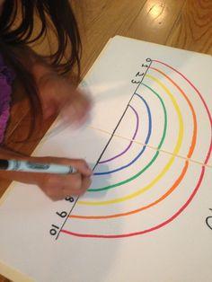 Early Level bridging to First Level Blue: Number Bond to 10 Rainbow Maths Eyfs, Preschool Math, Kindergarten Math, Teaching Math, Year 1 Maths, Early Years Maths, Math Resources, Math Activities, Math Games