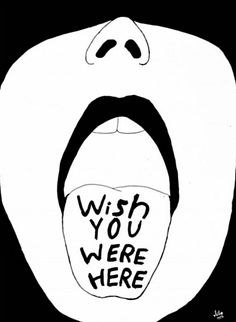 Wish you were here drawing / art