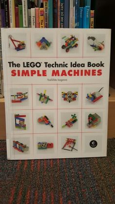 This Lego book includes creations by famed Lego-designer, Yoshihito Isogawa. In this book, Isogawa also teaches children the basics of machinery.