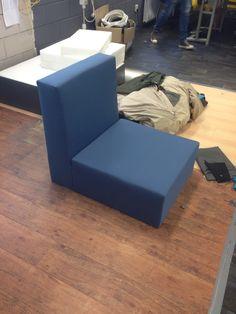 meubel blauw  Op maat gemaakte #meubels by www.outdoorloungekussens.nl