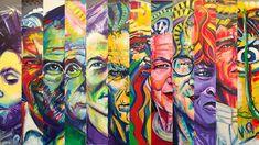 Wszystkie moje obrazy z wystawy na jednej grafice (#collage made by @krisip5 ) #passion #art #work #clarise #ulakaminska #colors #happiness