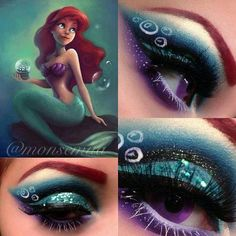 Disney makeup. Will someone please give me an occasion to try this?
