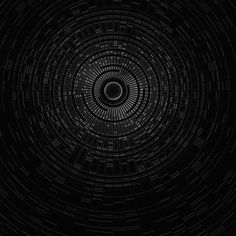 Papers.co wallpapers - vn96-circle-hole-dark-bw-abstract-pattern - http://papers.co/vn96-circle-hole-dark-bw-abstract-pattern/ - pattern